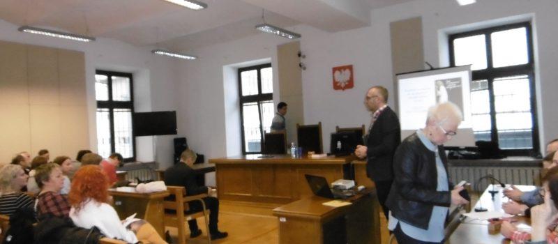 Współpraca Poradni z Sądem Rejonowym w Brzesku