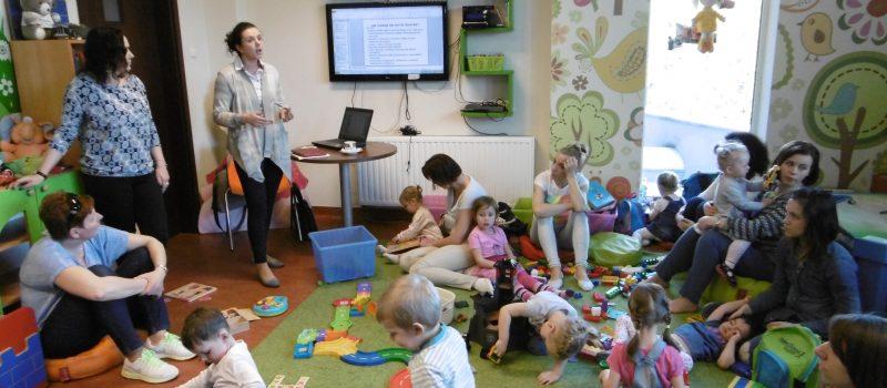 PORADNIA PSYCHOLOGICZO – PEDAGOGICZNA W BRZESKU  I KLUB MALUSZKA W REGIONALNYM CENTRUM KULTURALNO-BIBLIOTECZNYM W BRZESKU